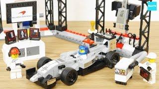 レゴ スピードチャンピオン F1 マクラーレンメルセデス ピットストップ75911 /LEGO Speed Champions McLaren Mercedes Pit Stop 75911