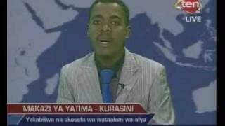 Mange Kimambi helps Kurasini Orphans - Channel 10 News 13/2/2012