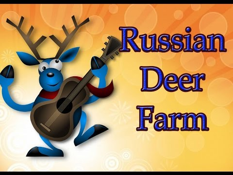 Facts about russia: Russian Deer Farm