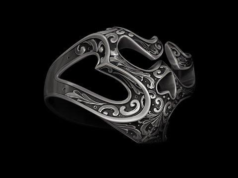 ZBrush 4r7 3d Modeling Ring SKUll YouTube