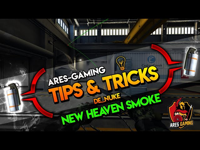 Tips & tricks: DE_NUKE NEW HEAVEN SMOKE [CS:GO] 2020 by ares-gaming