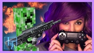 AshleyMarieeGaming - COD: AW/Minecraft PRO 1V1 Challenge | Legends of Gaming