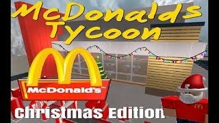 MC DONALD'S TYCOON /CHRISTMAS EDITEON /ROBLOX | DOGG2.0