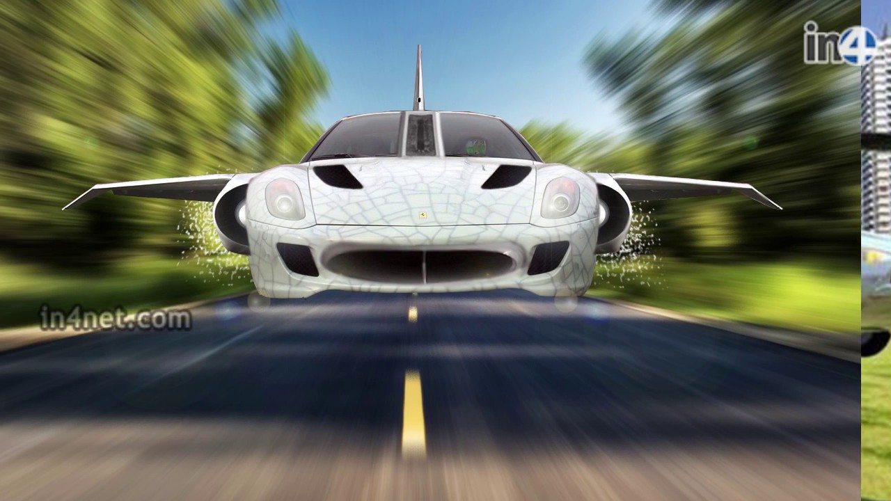 4 Real Flying Cars That Actually Fly | In4Net - YouTube