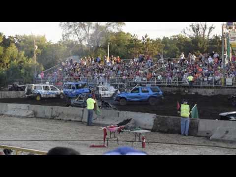 Benton Co. Fair Demo Derby- Part B (Sat 8-3-16)