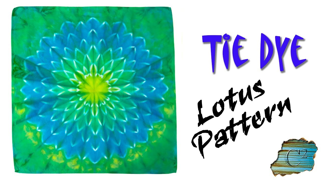 How to tie dye lotus pattern youtube how to tie dye lotus pattern izmirmasajfo