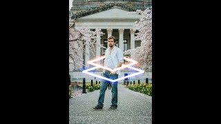 Neon Glowing Effect | Picsart Photo Editing | Picsart Editing Tutorial