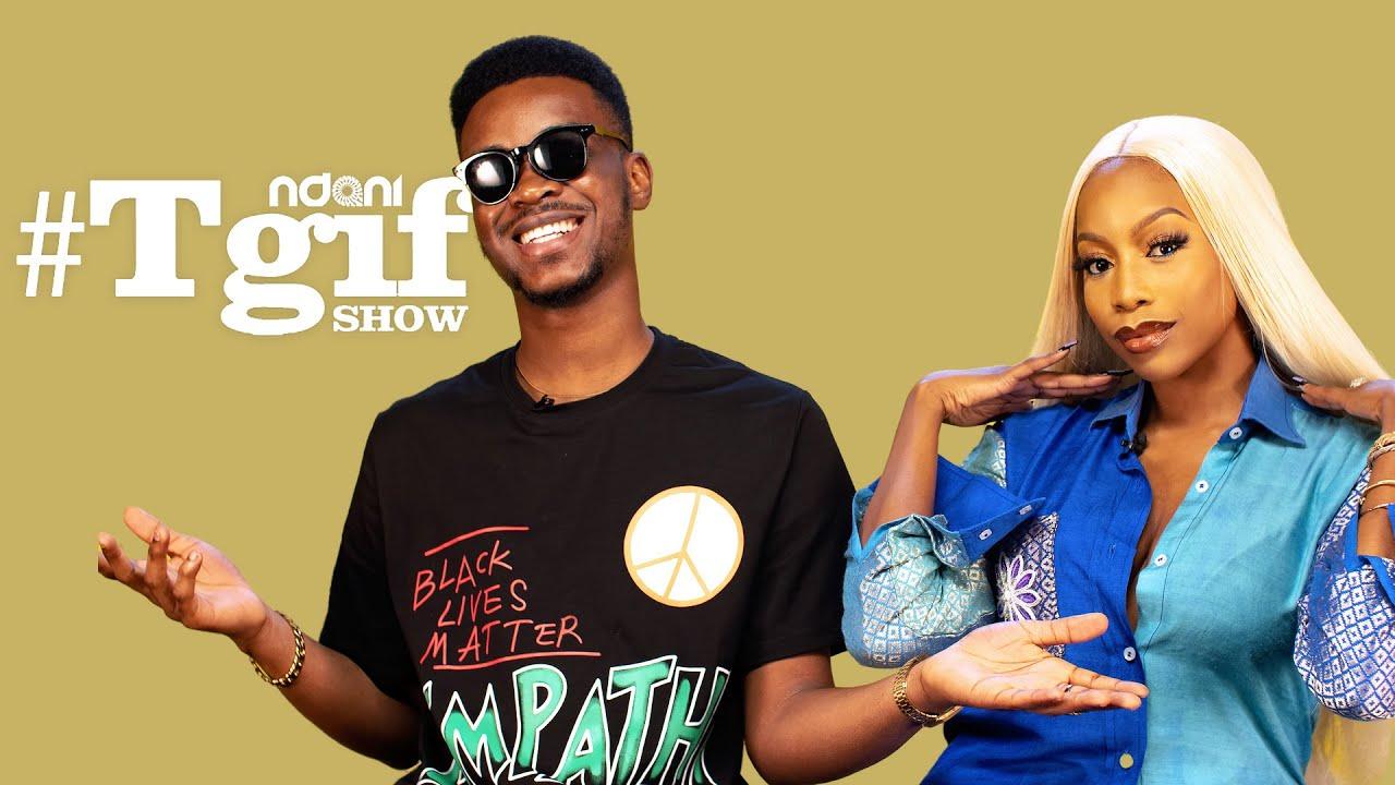 OAPs Mayowa Mula and NadinethePresenter on the NdaniTGIFShow