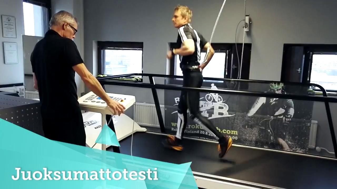 Juoksumattotesti | Sport Oulu