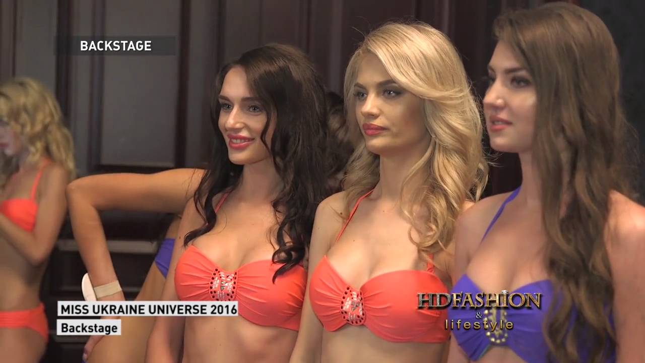 Miss Ukraine Universe 2016 Backstage