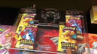 POKEMON Ultra Necrozma GX figure collection box and my Dragon Majesty BOOK collection