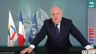 François Asselineau en direct avec les Français le 26/04/2017