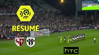 FC Metz - Angers SCO (2-0)  - Résumé - (FCM - SCO) / 2016-17