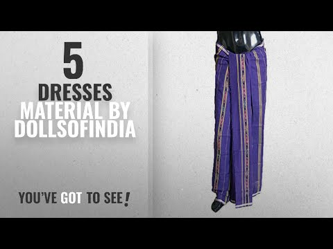 Top 10 Dollsofindia Dresses Material [2018]: DollsofIndia Women's Cotton Dress Material (RH50_Free