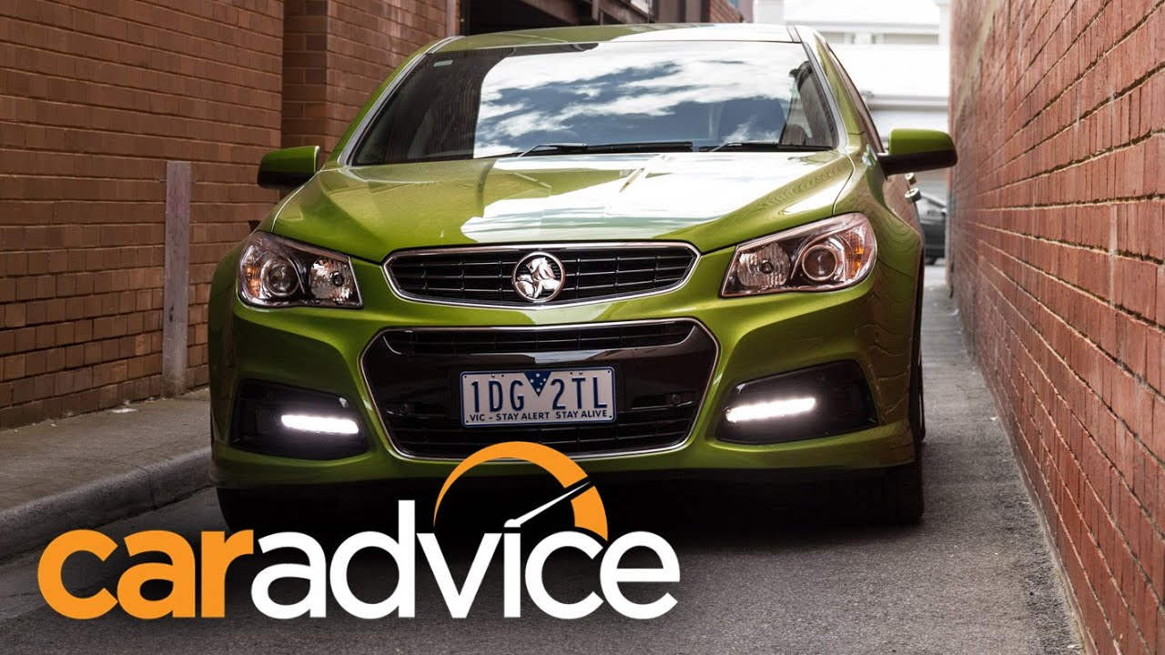 2015 holden commodore sv6 review youtube vanachro Image collections