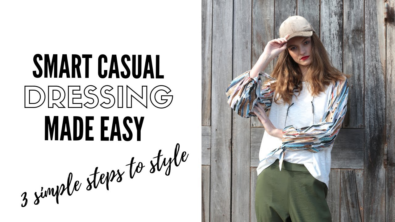 The Secret To Mastering Smart Casual