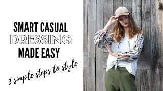 The Secret To Mastering Smart Casual Outfits | fashion trends 2019