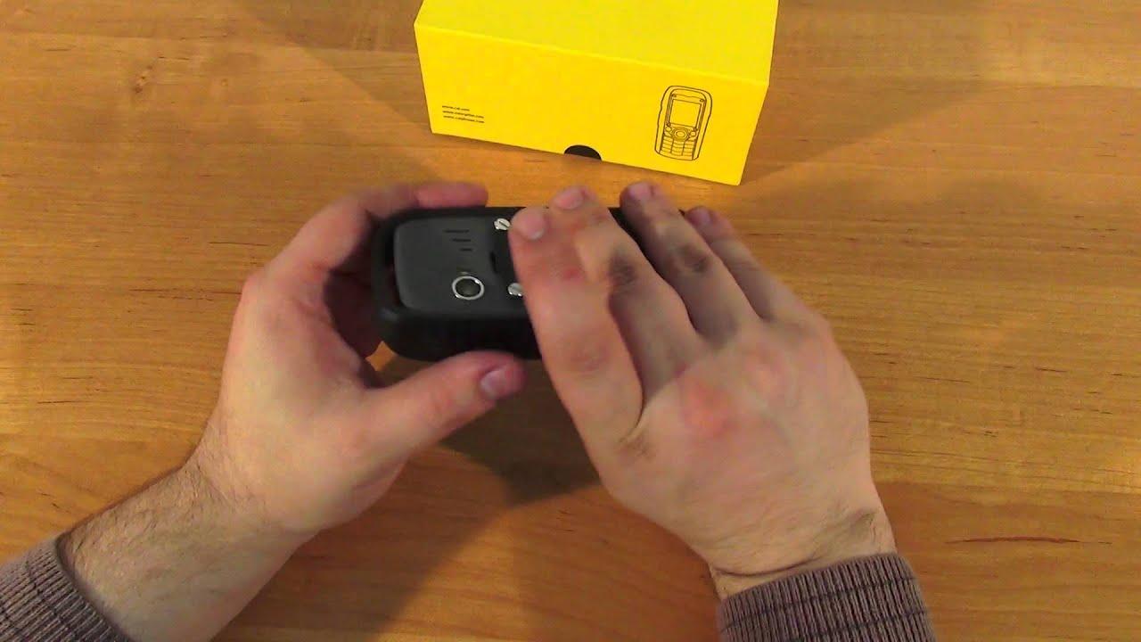 CAT S60, распаковка и знакомство - уникальный смартфон с .