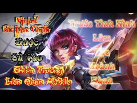 Minh Lam Gamer | Nữ Đặc Cảnh Violet Được Cử Về Chiến Trường Liên Quân Mobile Khi Lâm Tặc Hoành Hành