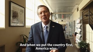 Governor Kasich on TPP and putting America above politics.