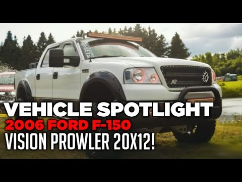 Spotlight 2006 Ford F150 6 Lift 20x12 S And 35s Youtube