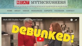 Debunking The Meat Industry's YouTube Channel