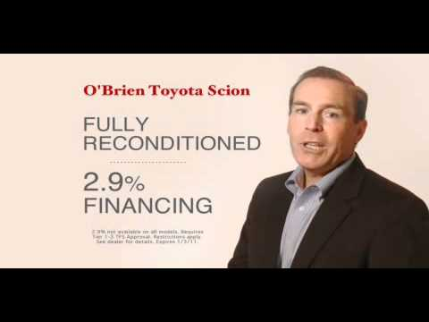 O'Brien Toyota Scion Certified Used Cars