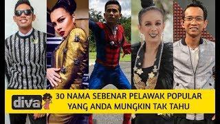 Cover images 30 Nama Sebenar Pelawak Popular Yang Anda Mungkin Tak Tahu