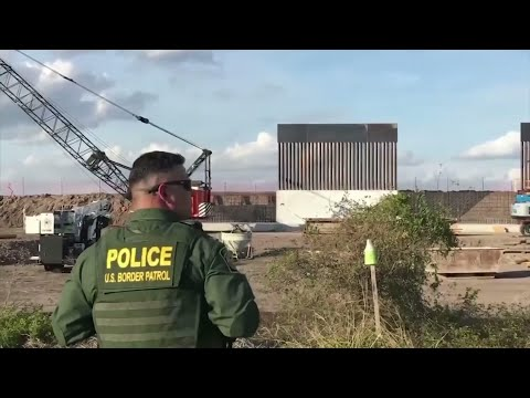 ACLU asks judge to block funding for border wall