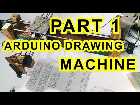 Video 1 | Plan and Design | Crazy Engineer's Drawing Robot Drawbot Arnab Das www.arnabkumardas.com