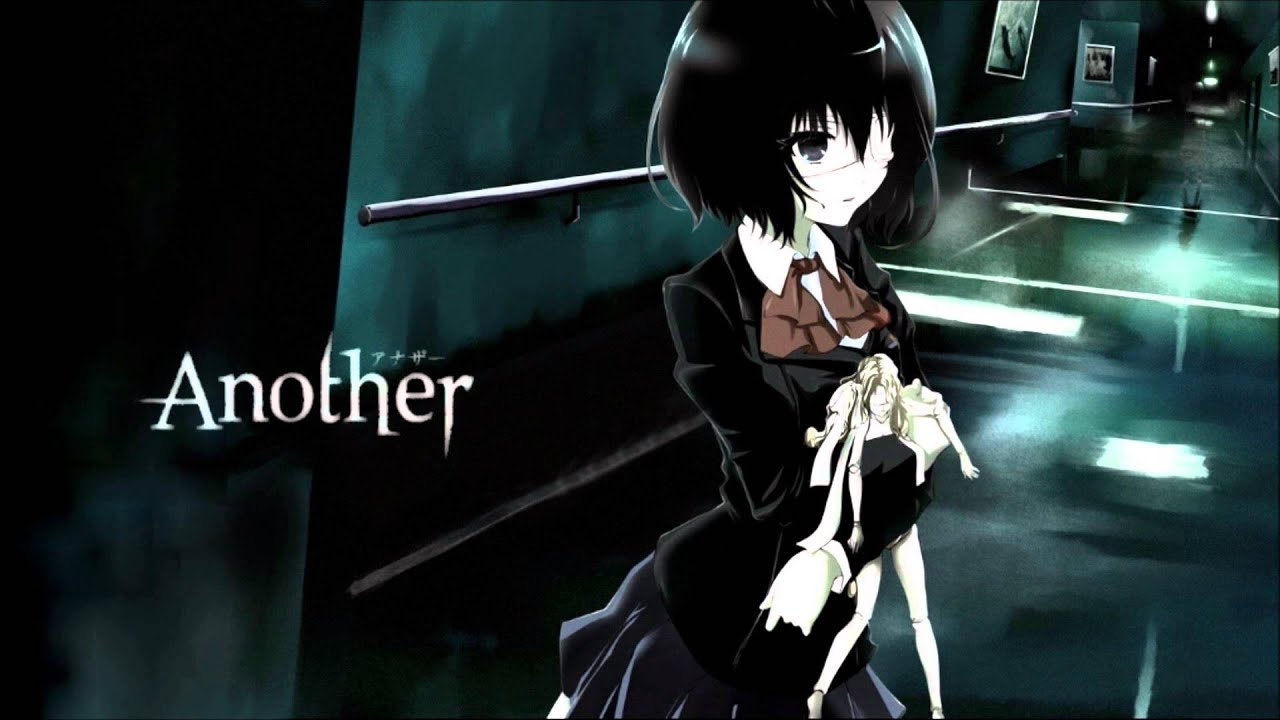 Anime Girl Angle Wallpaper 1366x768 El Secreto Oscuro Del Anime Another Youtube