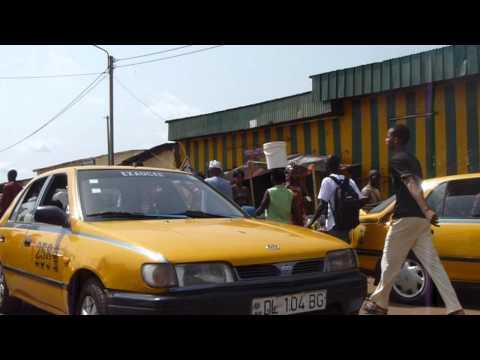 1593 Walking on the street in Bangui, CAR