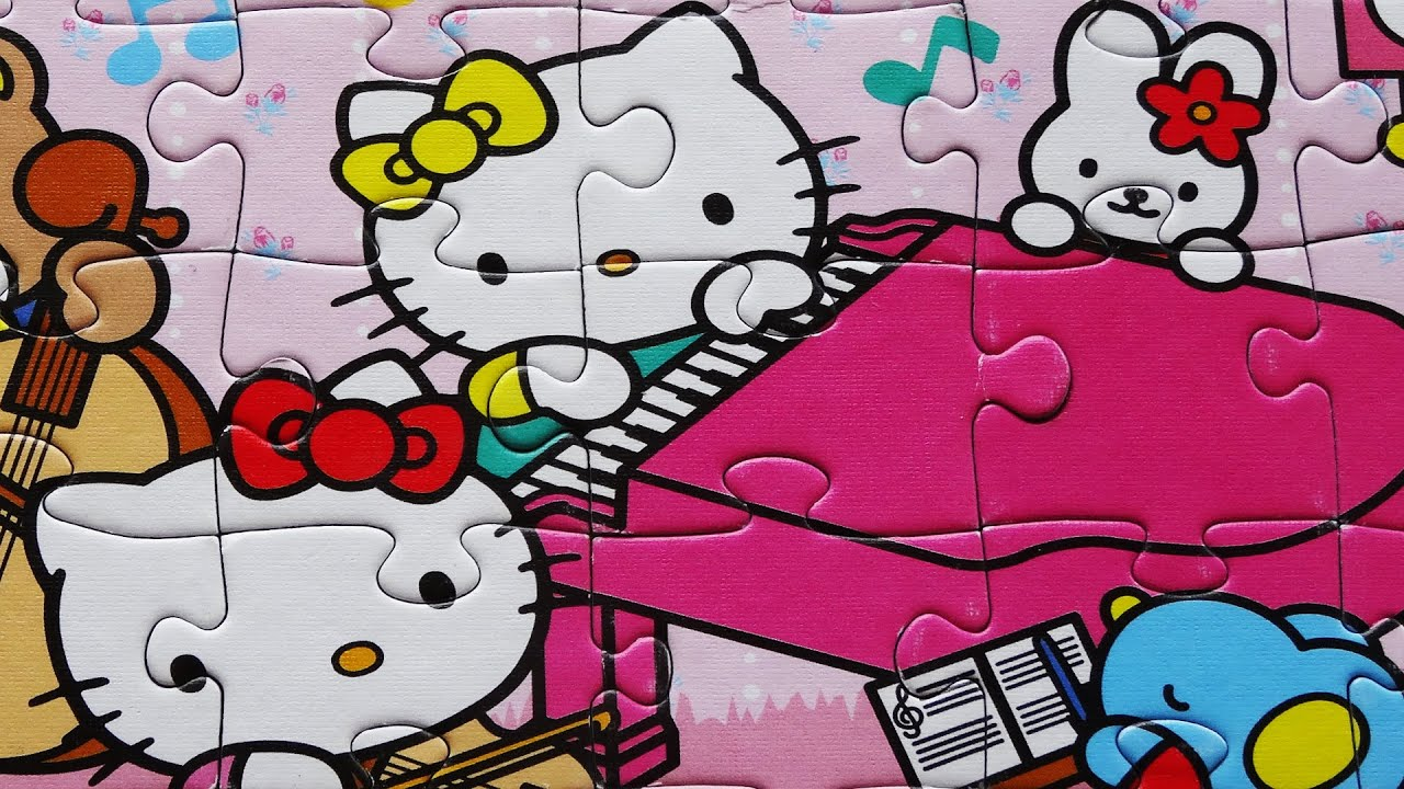 Uncategorized Games Puzzle Hello Kitty hello kitty puzzle games jigsaw rompecabezas de puzzles kids toys learning episodes sanrio