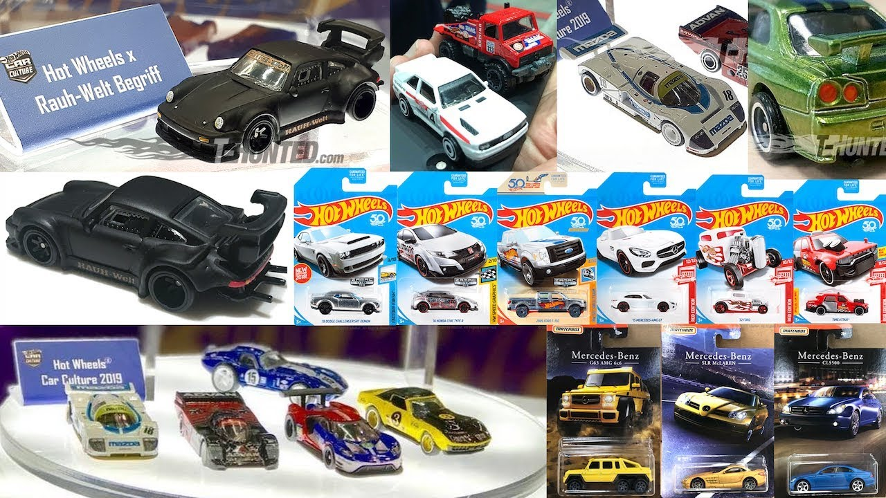 new 2019 hot wheels car culture exclusive cars and more. Black Bedroom Furniture Sets. Home Design Ideas