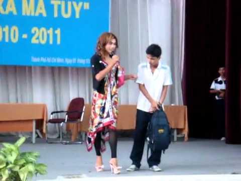 """Cuộc thi """"Hãy tránh xa ma túy"""" - Mạc Đĩnh Chi highschool"""