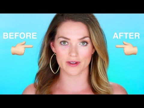 CONCEAL DARK CIRCLES UNDER THE EYE AND STOP CREASING ALL DAY! NO MORE UNDER EYE BAGS TIPS