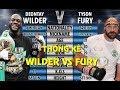 Nhận Định Deontay Wilder vs Tyson Fury: KẺ NÀO Sẽ Nâng Cao Đai Quyền Anh WBC Hạng nặng?