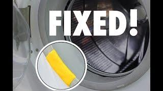 Sugru saves the day | Washer-Dryer Gasket Fix | How to-DIY @PragueCR