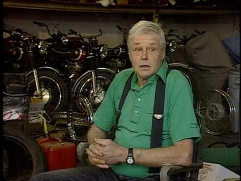 Triumph T Shirt >> The Great Escape - Bud Ekins Interview - 1998 - YouTube