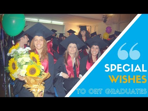 A special message to all ORT graduates around the world