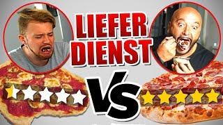 0 STERNE vs 5 STERNE Essen bestellen - Experiment ( Food Fun )