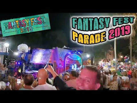 🔴 FANTASY FEST PARADE LIVE Key West