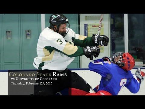 CSU Rams Hockey vs CU Buffalo - 02/12/2015