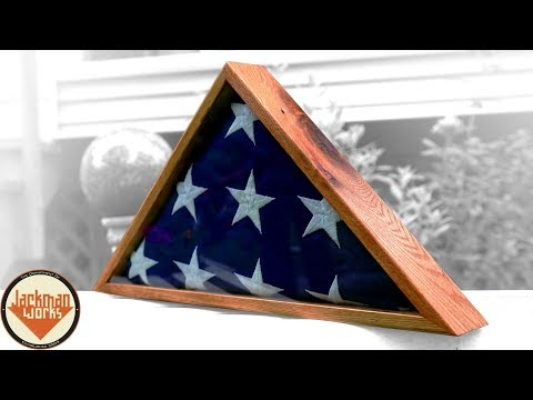 Reclaimed Oak (Pallet Wood) Flag Box