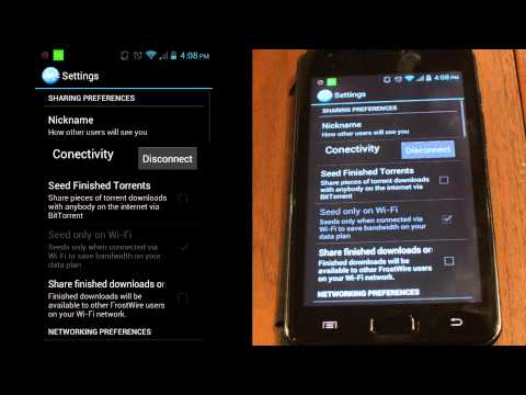 How To Share Files From Android Phones Or Tablets On Wi-Fi With FrostWire
