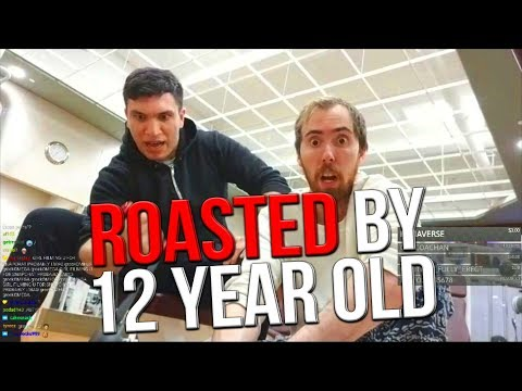 GETTING ROASTED BY 12 YEAR OLD IN THE GYM FT. ASMONGOLD