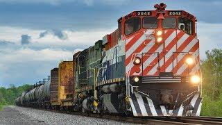 [HD] BC Rail Colors Still Running on the MA&N