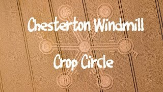 Crop Circle Chesterton Windmill 26th July 2018