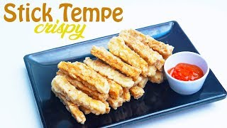 Cara Membuat Stick Tempe Crispy