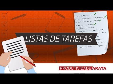 COMO SER MAIS ORGANIZADO COM LISTAS DE TAREFAS